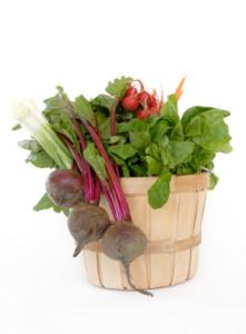 CSA - Basket of Veggies