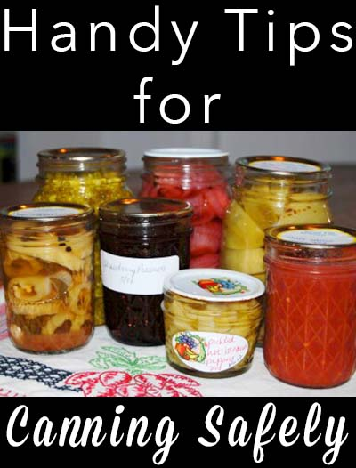 How can you tell if that canning recipe you found is safe? Here are some tips and tricks to help you choose safe canning recipes for you and your family to enjoy.