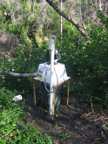 Our micro hydro set up