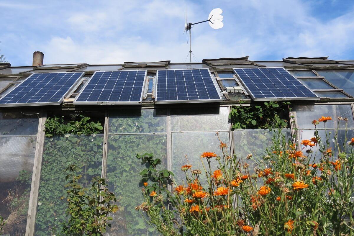 off grid garden