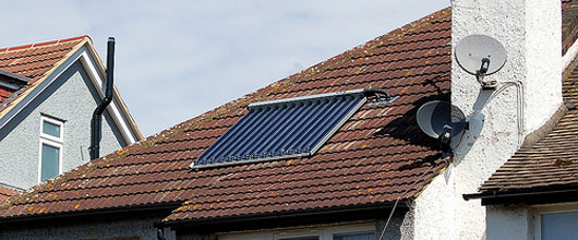 Solar hot water heaters qualify for tax credits under Obama's stimulus package