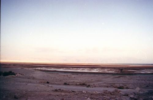 The Dead Sea is gradually losing water