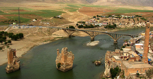 Ancient city of Hasankeyf may be flooded by Isilu Dam