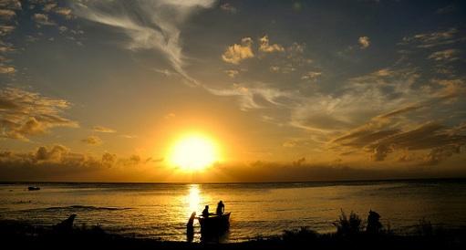 Are rising sea levels bringing the final sunset for Kiribati?