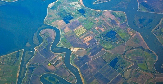 The San Joaquin - Sacramento River Delta is just one of many global areas losing groundwater