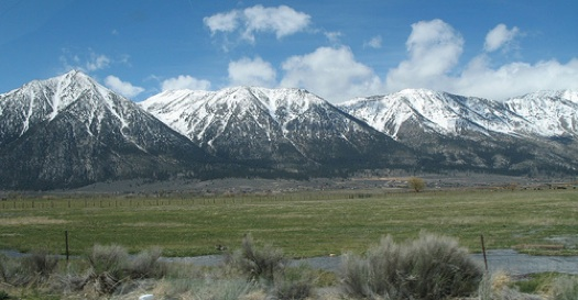 California is researching the impact of climate change on water patterns in places like the Sierra Nevada range.