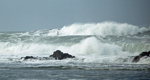 The variability of the Mavericks Surf Contest is a reminder that, in the end, water manages us.