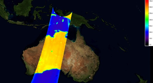 Calibrated brightness temperature imaging
