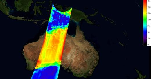 Uncalibrated brightness temperature imaging