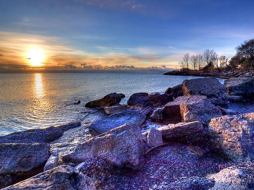 Humber Bay Park, Lake Ontario