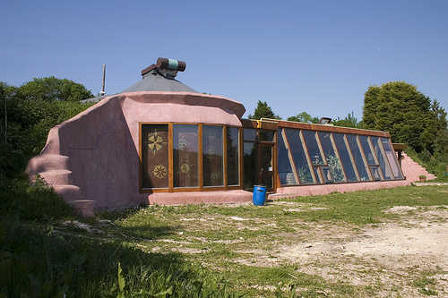 An Earthship in Brighton, UK