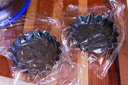 lined tart pans