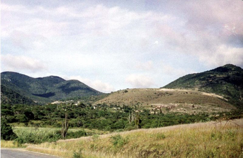 san cristobal in mixteca region of mexico