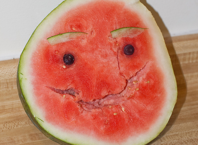Fruits like watermelon are mood-boosting foods