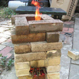 rocket stove brick