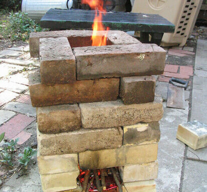 rocket stove brick