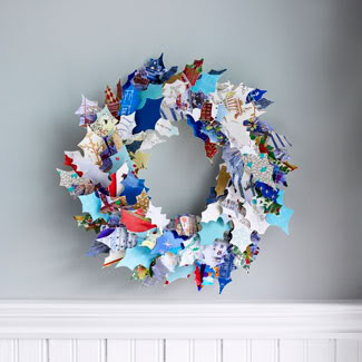 Greeting Card Wreath