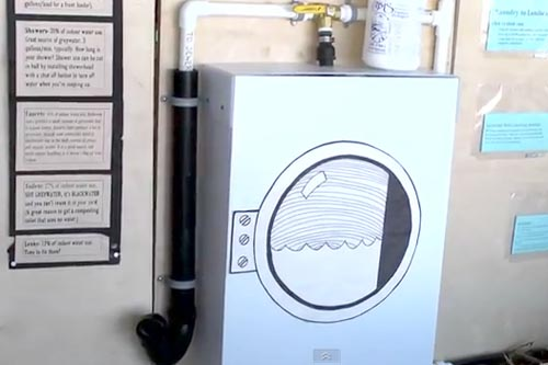 grey water system mock up