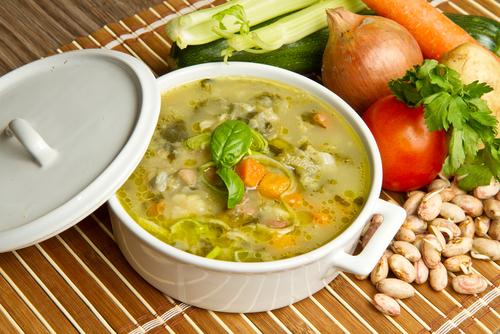 Whole Foods Soup Tables