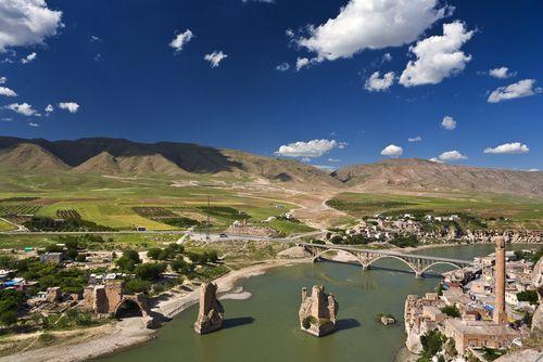 Hasankeyf, Turkey overlooking the Tigris River