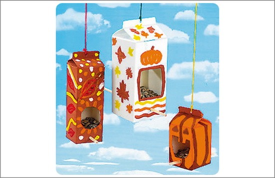 Autumn Bird Feeder
