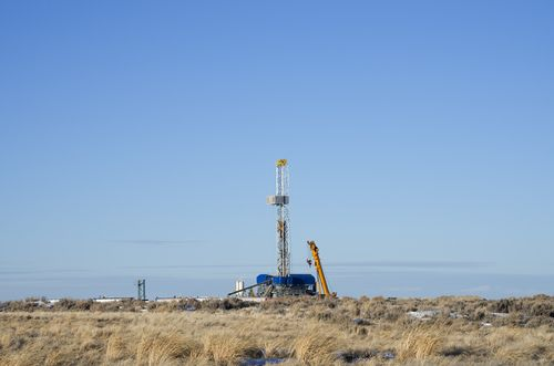 Gas Well in Wyoming