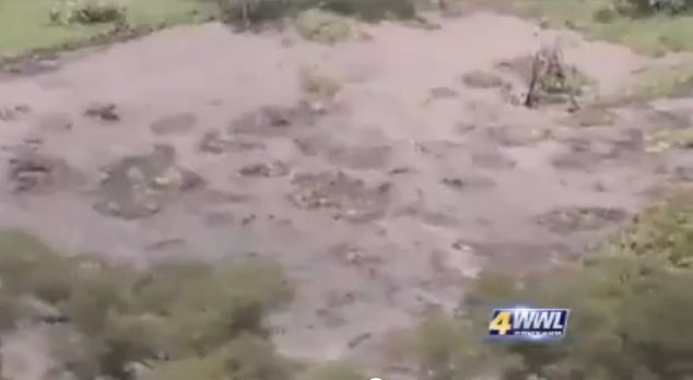 Louisiana Sinkhole Grows