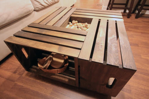Wooden Crates as a DIY Project Material