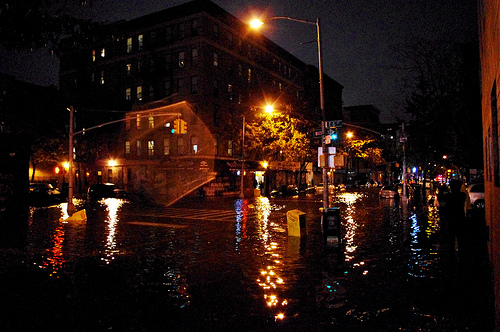 Hurricane Sandy East Village