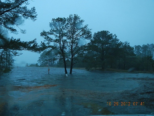 Hurricane Sandy Storm Surge Chincoteague Island