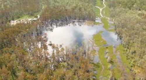 Louisiana Sinkhole 15 Oct 2012
