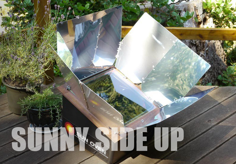SunOven Cooks w/out Fuel