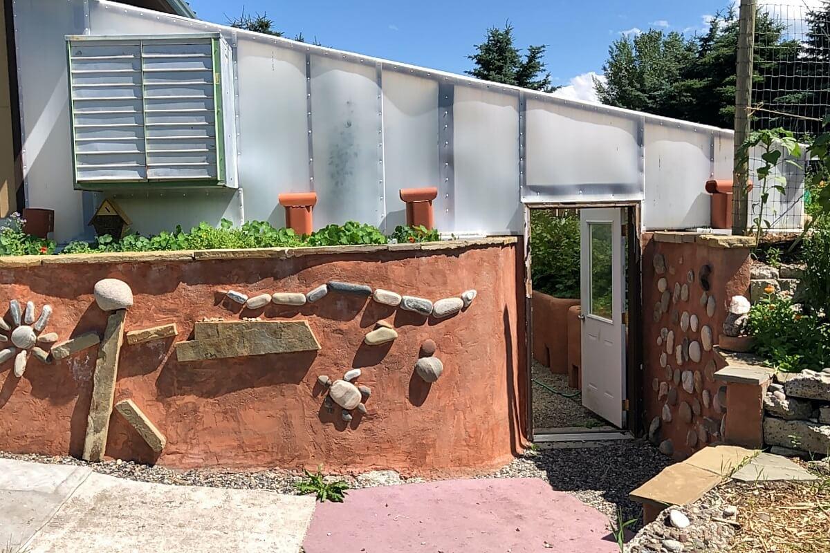 sunken greenhouse