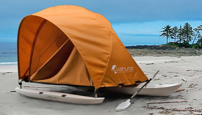 Kahuna camping kayak