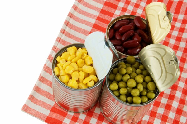 BPA can seep into canned foods