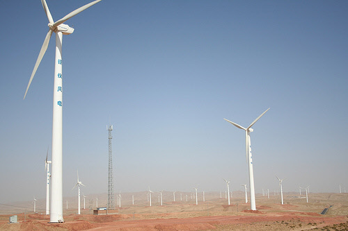 wind power generation in china