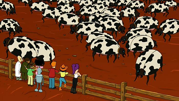 Buggalo Farm from Futurama