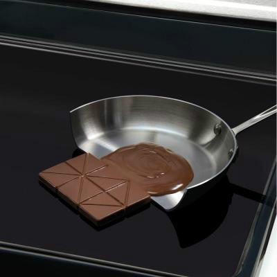 chocolate melting on induction cooktop
