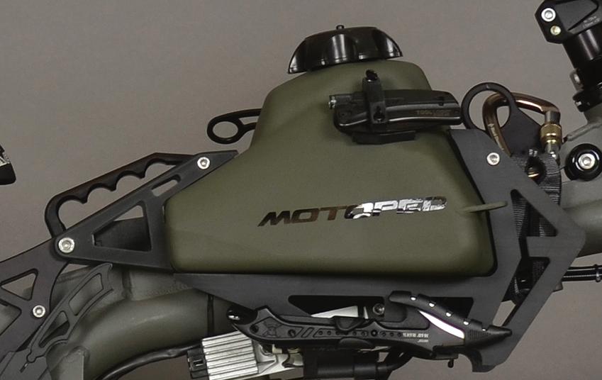 motoped logo on bike