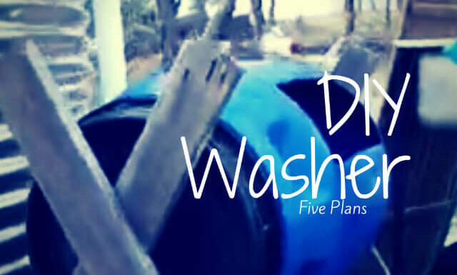 diy washing machine