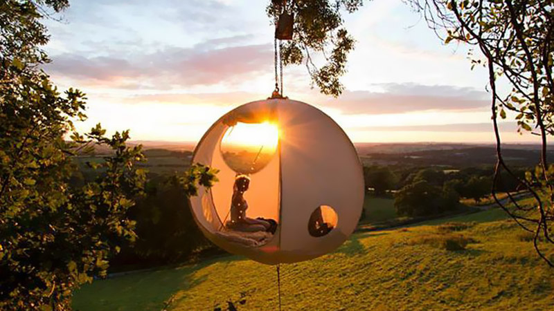 roomoon tree tent & Roomoon Tree Tent Gets Campers Off the Ground