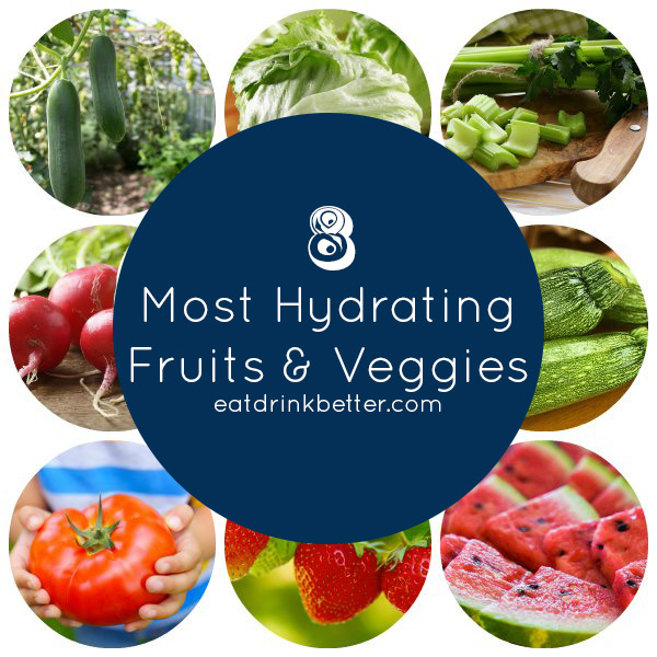 Eat Your Water: 8 Most Hydrating Foods + Recipes