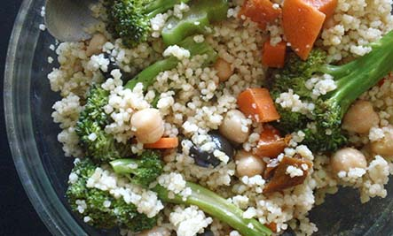 Fall Recipes: Broccoli Cous Cous