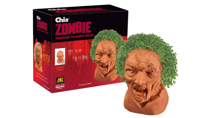 new chia pet zombies