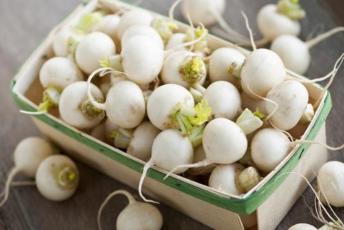 In Season for Fall: Turnips