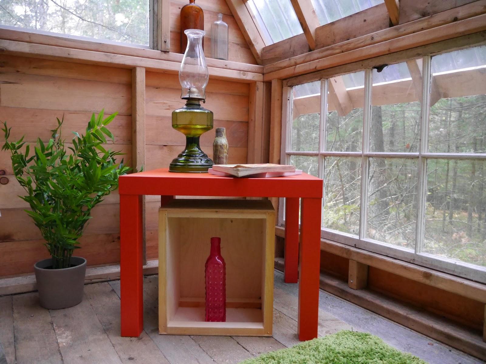 cabin kerosene lamp