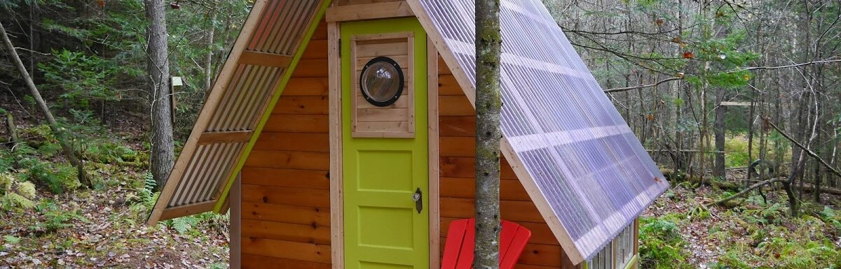recycled cabin