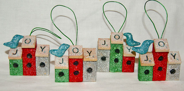 Custom Ornaments Made from Your Recyclables