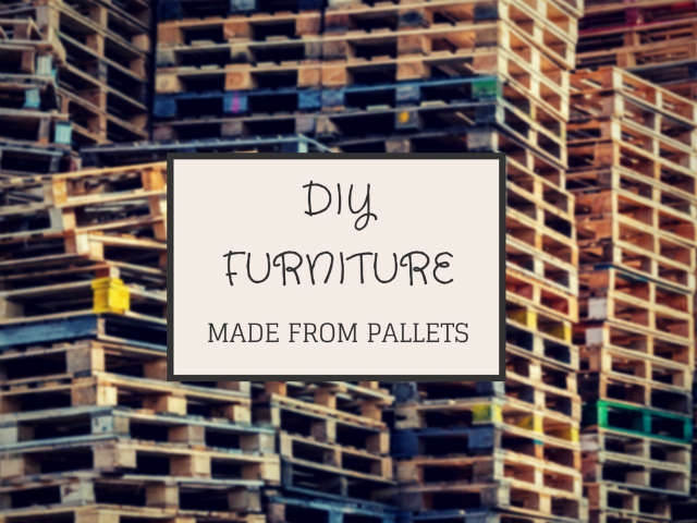pallet furniture projects. Diy Pallet Furniture Projects