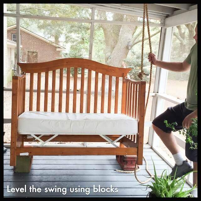 level the swing